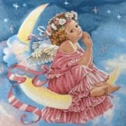 Наволочка Лунный ангел - Гобелен
