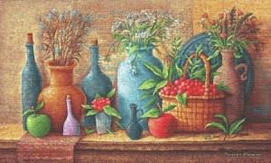 Натюрморт с яблоками - Гобелен