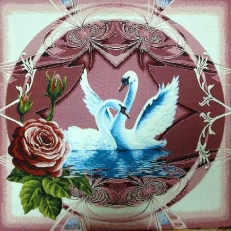 Наволочка Лебеди - Гобелен