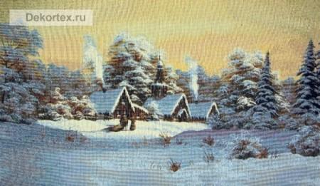 Зима  - Гобелен