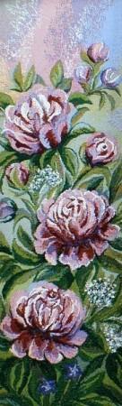 Пионы розовые - Гобелен