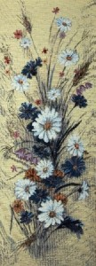 Полевые цветы - Гобелен