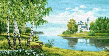 Святые берега - Гобелен