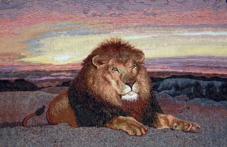 Царь зверей - Гобелен