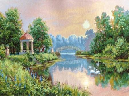 Утренний парк - Гобелен