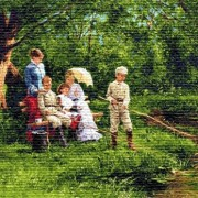 Бархатный сезон - Гобелен