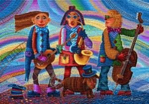 Веселый оркестр - Гобелен