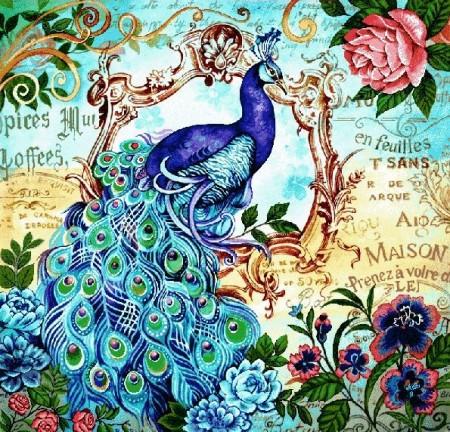 Восхитительный павлин - Гобелен