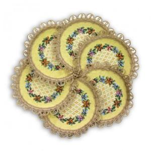 Комплект Невеста (6 шт.) - Гобеленовая салфетка