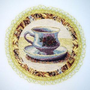 Чайные традиции - Гобеленовая салфетка