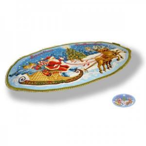 Веселого Рождества - Гобеленовая салфетка