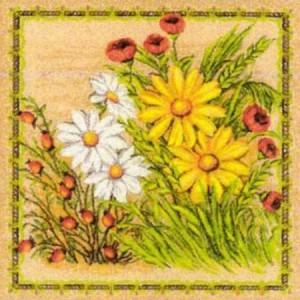 Наволочка Луговые цветы - Гобелен