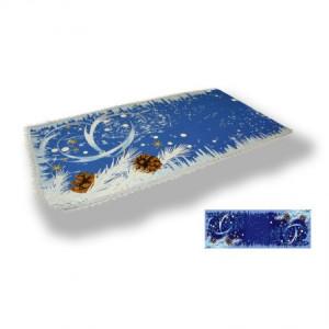 Морозные узоры - Гобеленовая салфетка