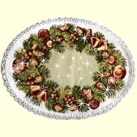 Настроение Рождества - Гобеленовая салфетка
