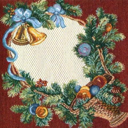 Комплект Новогодние дары (6 шт) - Гобеленовая салфетка