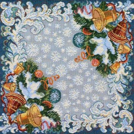 Комплект Новогодняя сюита (6 шт.) - Гобеленовая салфетка