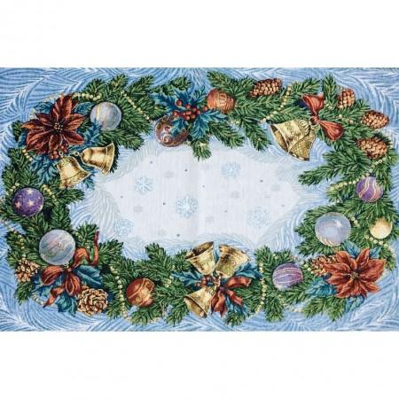 Рождество - Гобеленовая салфетка