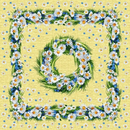 Ромашки - Гобеленовая скатерть