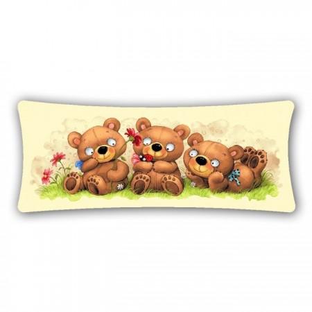 Наволочка Баловни. Три медведя - Гобелен