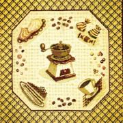 Комплект Утро (6 шт.) - Гобеленовая салфетка