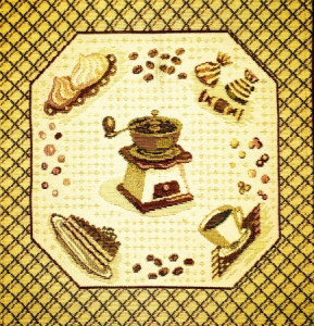 Чудо меленка - Гобеленовая салфетка