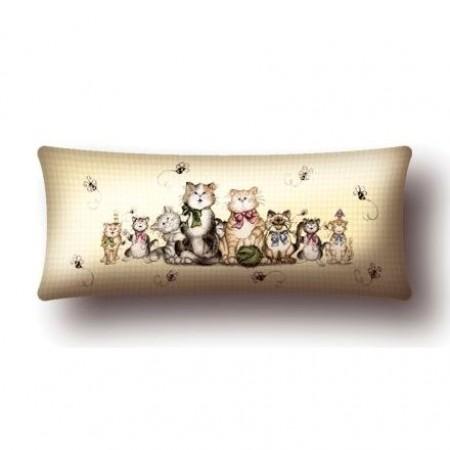 Наволочка Коты и пчелы - Гобелен