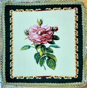 Роза - Гобеленовая салфетка