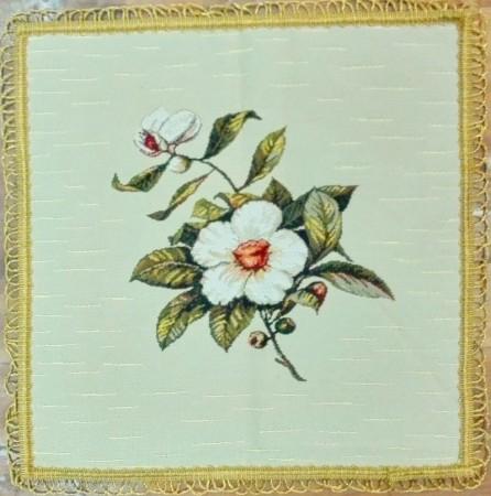 Шиповник - Гобеленовая салфетка