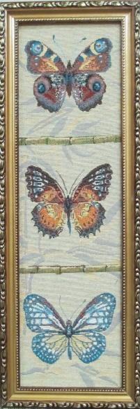 Бабочки вертикальные 2