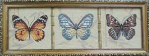 Бабочки горизонтальные 2