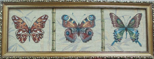 Бабочки горизонтальные 3