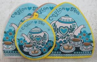 Комплект Цейлонский чай (Грелка на чайник+прихватка)