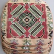 Комплект чехлов на стул Ковровый узор 3 (4 шт)