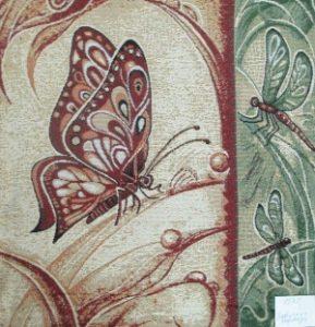Наволочка Бабочка и стрекоза