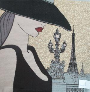 Наволочка Париж