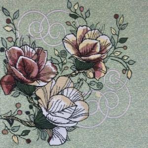 Наволочка Три розы
