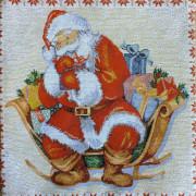 Декоративная наволочка Подарки (35*35)