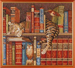 Библиотекарь (62*55) Россия.