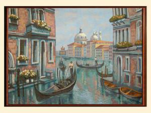 Вечерняя Венеция (77*55) Россия.