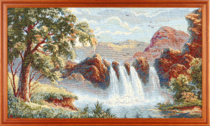 Водопад (94*52) Россия.