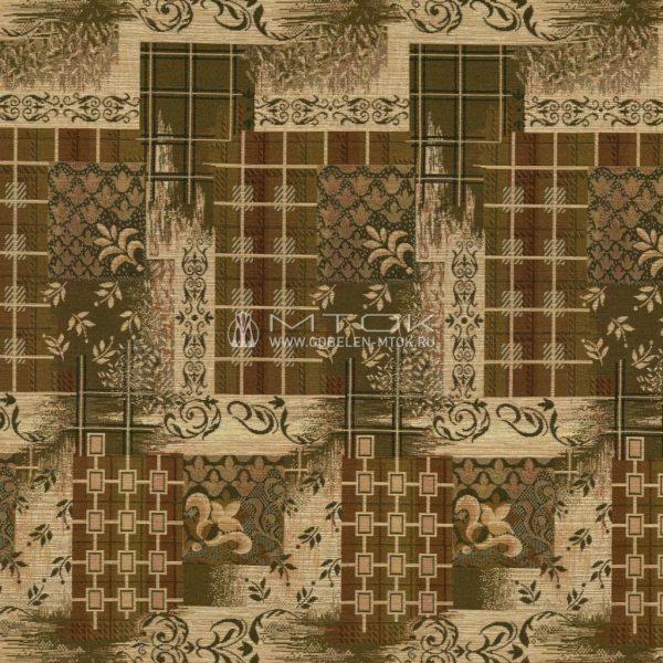 """Гобелен гостиный """"клетка с лилиями"""" 1044 4046 01 (Гобелен под заказ)"""