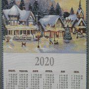 """Гобеленовый календарь 2020 """"Авиаторы"""""""