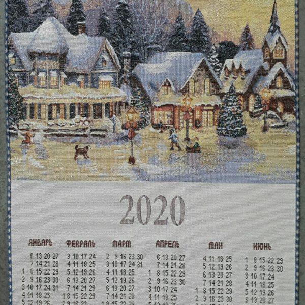 """Гобеленовый календарь """"Волшебный вечер"""""""