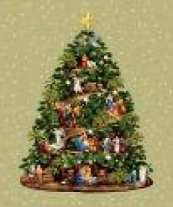 Рождественская елка - Гобелен