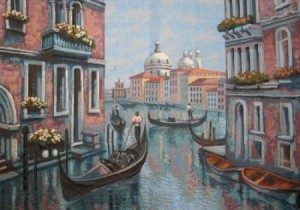 Вечерняя Венеция - Гобелен