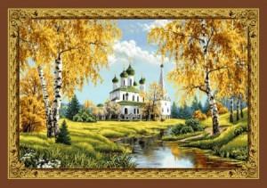 Храм у воды - Гобелен