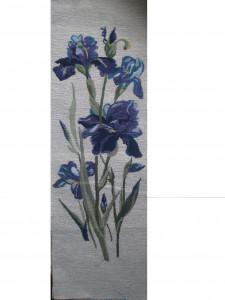 Голубой ирис - Гобелен