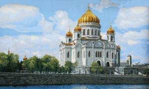 Храм Христа Спасителя - Гобелен
