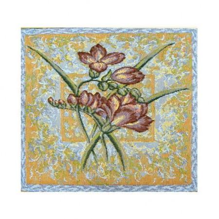 Комплект Орхидея голубая (4 шт.) - Гобеленовая салфетка