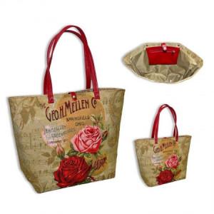Сумка П.Шоппер купоны Две розы - Гобелен